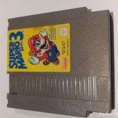 Videojuegos y Consolas: SUPER MARIO 3 NINTENDO NES PAL-ESPAÑA. Lote 195249121