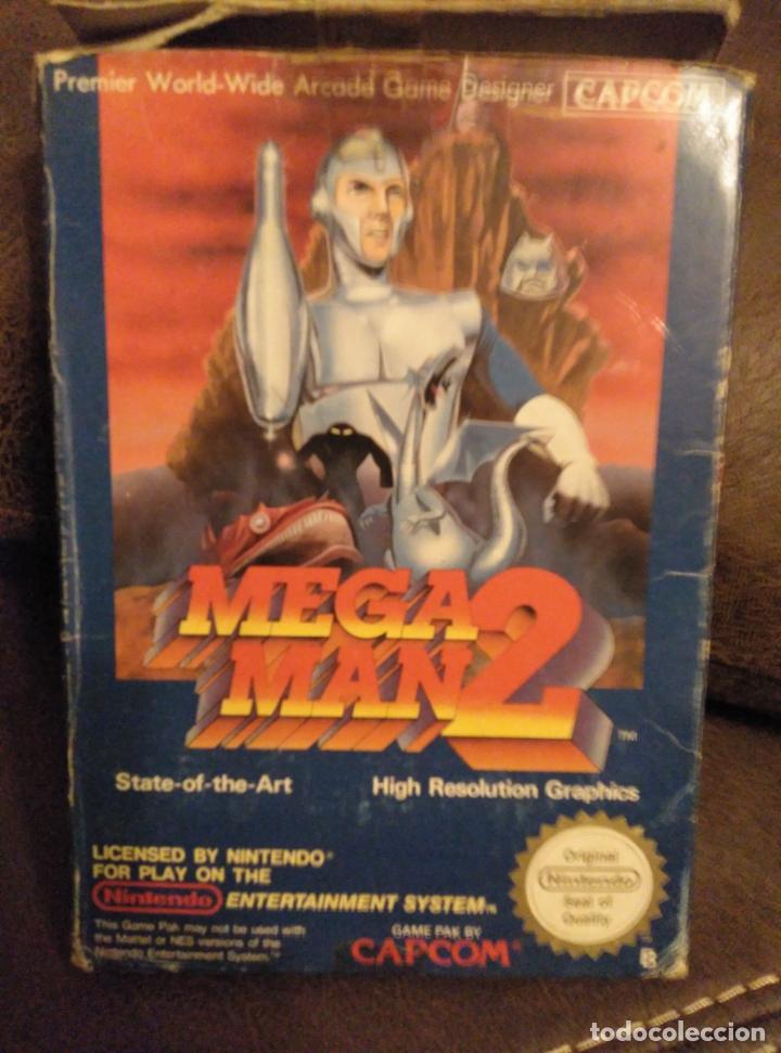 MEGAMAN 2 NINTENDO NES MEGA MAN COMPLETO EN CAJA (Juguetes - Videojuegos y Consolas - Nintendo - Nes)