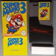 Videojuegos y Consolas: NINTENDO NES SUPER MARIO BROS. 3 COMPLETO CAJA Y MANUAL BOXED CIB PAL A UKV R9707. Lote 183808507