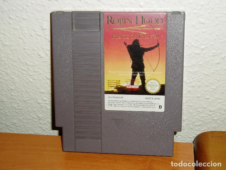 ROBIN HOOD NINTENDO NES PAL ESPAÑA (Juguetes - Videojuegos y Consolas - Nintendo - Nes)