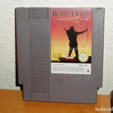 Videojuegos y Consolas: ROBIN HOOD NINTENDO NES PAL ESPAÑA. Lote 184078706