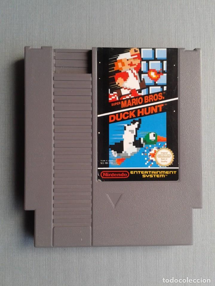 JUEGO NINTENDO NES SUPER MARIO BROS. & DUCK HUNT PAL B SOLO CARTUCHO ONLY CART R9759 (Juguetes - Videojuegos y Consolas - Nintendo - Nes)