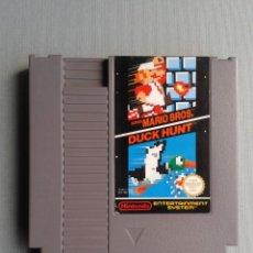 Videojuegos y Consolas: JUEGO NINTENDO NES SUPER MARIO BROS. & DUCK HUNT PAL B SOLO CARTUCHO ONLY CART R9759. Lote 194493435