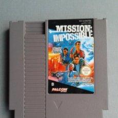 Videogiochi e Consoli: JUEGO NINTENDO NES MISSION: IMPOSSIBLE PAL B SOLO CARTUCHO ONLY CART R9760. Lote 184176045