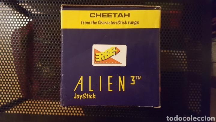 Videojuegos y Consolas: Joystick Cheetah de Alien III especial para Nintendo por ERBE software 1992 en caja - Foto 6 - 185874447