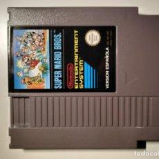 Videojuegos y Consolas: JUEGO SUPER MARIO BROS NINTENDO NES. Lote 187483542