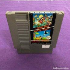 Videojuegos y Consolas: JUEGO SUPER MARIO BROS + DUCK HUNT SOLO CARTUCHO NINTENDO NES. Lote 187555298