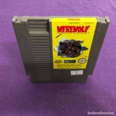 Videojuegos y Consolas: JUEGO WEREWOLF SOLO CARTUCHO NINTENDO NES. Lote 187555323
