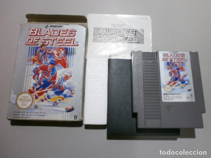 NINTENDO NES KONAMI BLADES OF STEEL (Juguetes - Videojuegos y Consolas - Nintendo - Nes)
