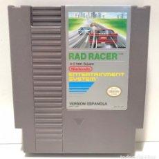 Videojuegos y Consolas: RAD RACER NINTENDO NES. Lote 191086833
