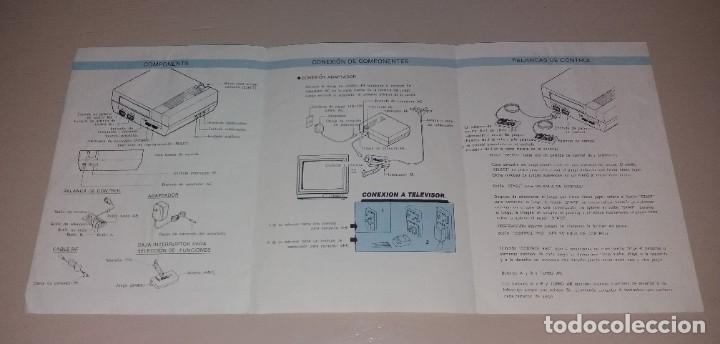 Videojuegos y Consolas: Manual de instrucciones. Consola de videojuegos tipo Nes (NS-81) - Foto 2 - 191408720