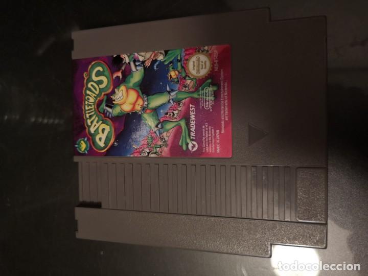 BATTLE TOADS NES NINTENDO ORIGINAL CARTUCHO (Juguetes - Videojuegos y Consolas - Nintendo - Nes)