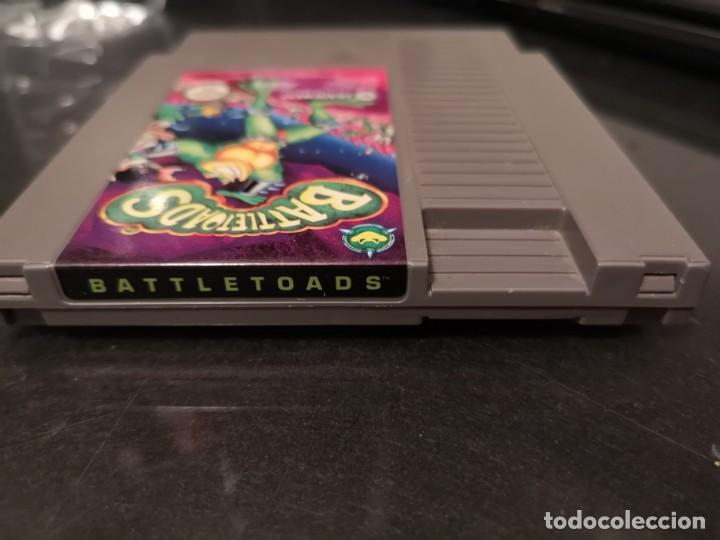 Videojuegos y Consolas: battle toads Nes Nintendo original cartucho - Foto 2 - 193716723