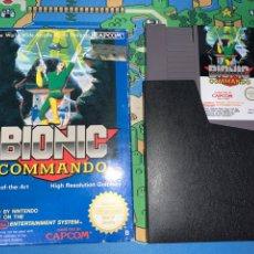 Videojuegos y Consolas: BIONIC COMMANDO NES NINTENDO. Lote 193970635