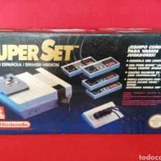 Videojuegos y Consolas: NINTENDO SUPER SET NES. Lote 194126430