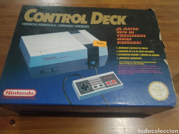 NINTENDO NES CON CAJA. LEER BIEN DESCRIPCIÓN. (Juguetes - Videojuegos y Consolas - Nintendo - Nes)