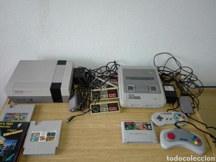NINTENDO CONSOLAS (Juguetes - Videojuegos y Consolas - Nintendo - Nes)