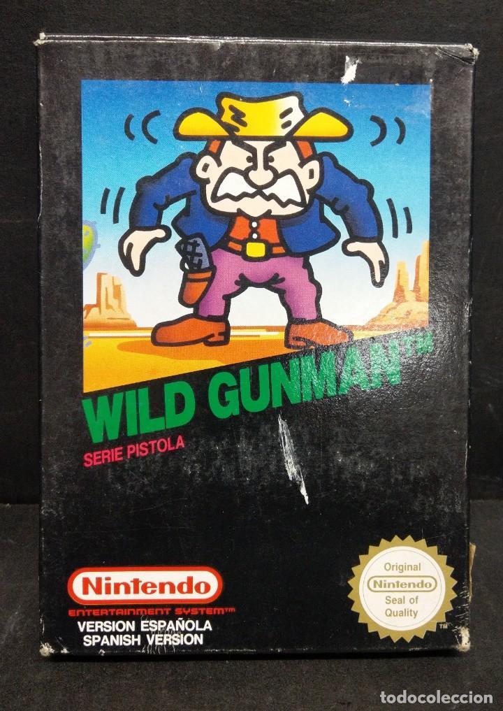 NINTENDO NES WILD GUNMAN NUEVO A ESTRENAR (Juguetes - Videojuegos y Consolas - Nintendo - Nes)