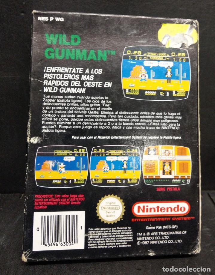 Videojuegos y Consolas: Nintendo Nes Wild gunman nuevo a estrenar - Foto 2 - 194529742