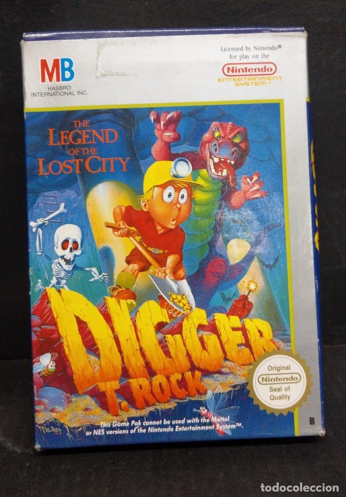 NINTENDO MES DIGGER T ROCK NUEVO A ESTRENAR (Juguetes - Videojuegos y Consolas - Nintendo - Nes)