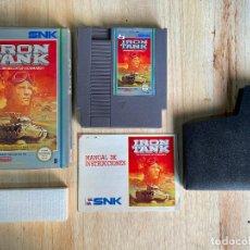 Videojuegos y Consolas: JUEGO DE NINTENDO NES IRON TANK - VERSION ESPAÑOLA PAL ESPAÑA COMO NUEVO. Lote 194590860