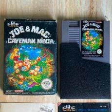 Videojuegos y Consolas: JUEGO DE NINTENDO NES JOE MAC CAVEMAN NINJA- VERSION ESPAÑOLA PAL ESPAÑA COMO NUEVO. Lote 194591445