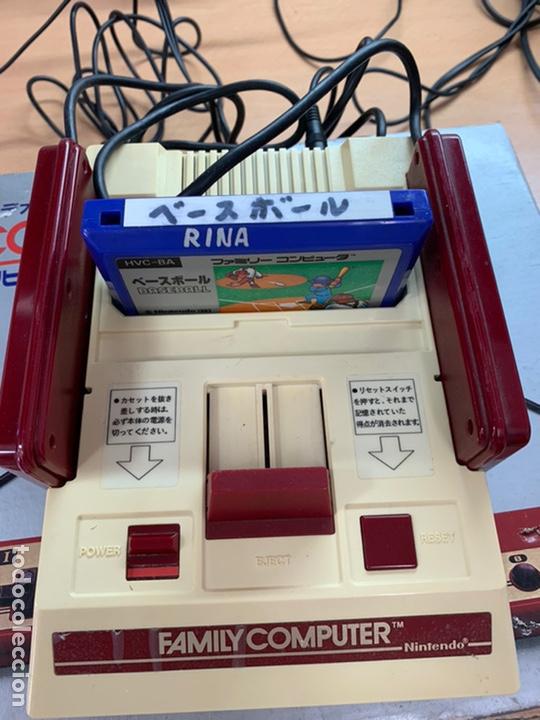 Videojuegos y Consolas: Nintendo Famicom completa modificada rca family computer - Foto 3 - 194639817