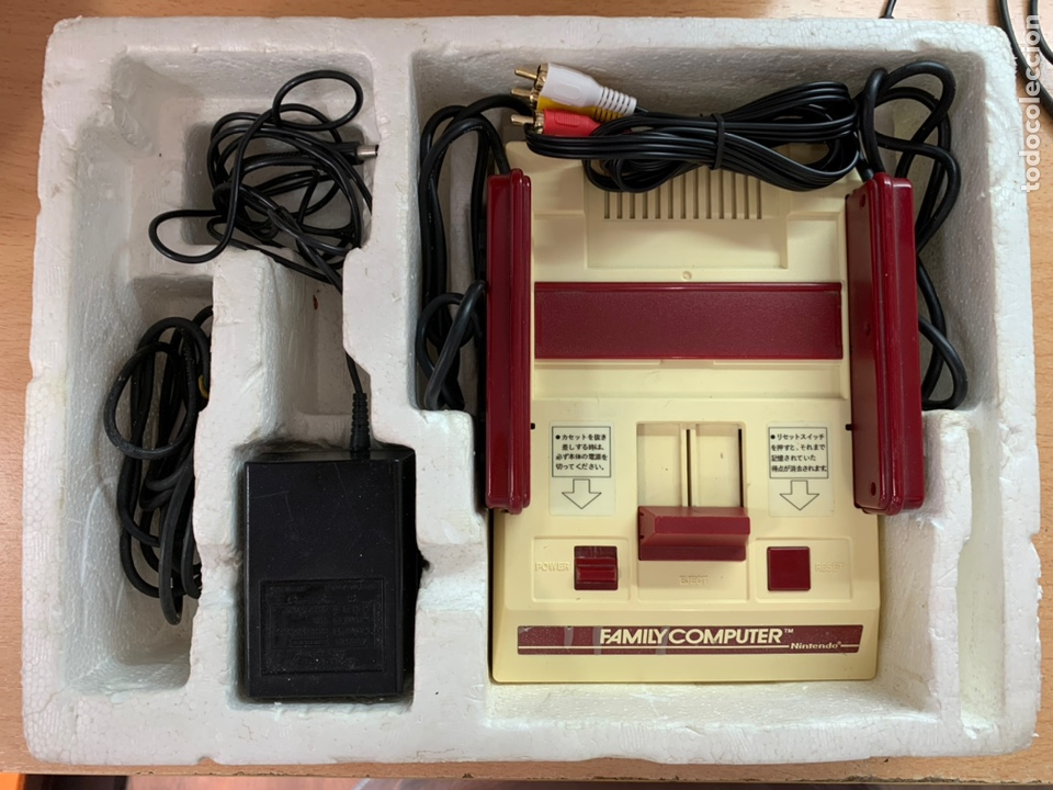 Videojuegos y Consolas: Nintendo Famicom completa modificada rca family computer - Foto 9 - 194639817