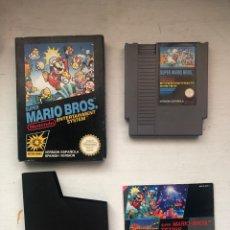 Videojuegos y Consolas: LOTE COMPLETO NES SÚPER MARIO BROS. VER DESCRIPCIÓN. AÑO 1985. Lote 194947906