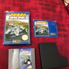 Videojuegos y Consolas: JUEGO TURBO RACING (NES) COMPLETO - CAJA .CARTUCHO Y MANUAL DE INSTRUCCIONES.TODO ORIGINAL- VER FOTO. Lote 194977185