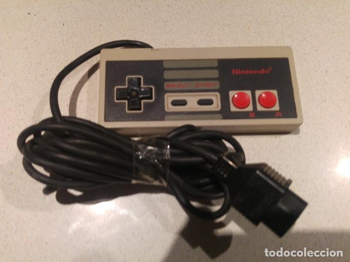 MANDO PAD NINTENDO NES ORIGINAL (Juguetes - Videojuegos y Consolas - Nintendo - Nes)