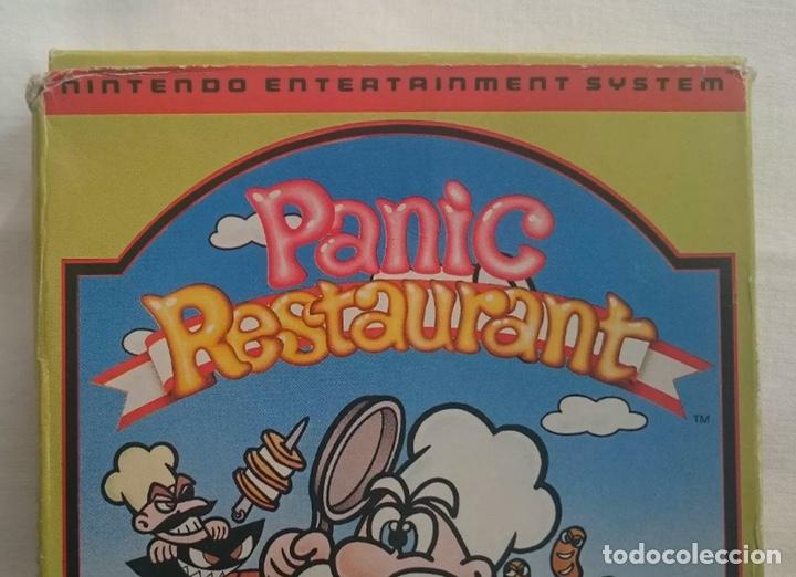 Videojuegos y Consolas: Nintendo Panic Restaurant NES PAL ESPAÑA! Muy buscado! - Foto 3 - 195334632
