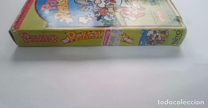 Videojuegos y Consolas: Nintendo Panic Restaurant NES PAL ESPAÑA! Muy buscado! - Foto 5 - 195334632