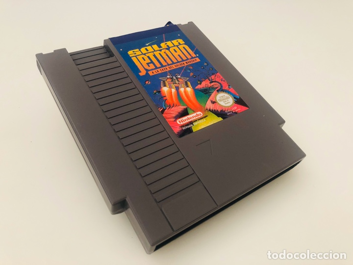 SOLAR JETMAN NINTENDO (Juguetes - Videojuegos y Consolas - Nintendo - Nes)