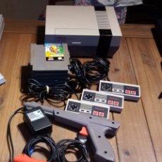 Videojuegos y Consolas: NINTENDO NES COMPLETA CON EXTRAS. Lote 195393541
