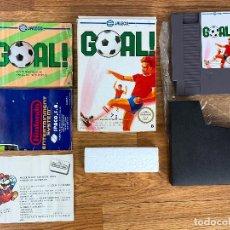 Videojuegos y Consolas: JUEGO DE NINTENDO NES GOAL - . Lote 195678243