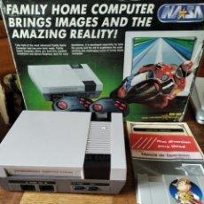 Videojuegos y Consolas: NES CLONICA NASA - CON CORCHOS EN CAJA + JUEGO CLONICO - FUNCIONANDO. Lote 196049762