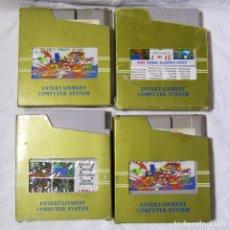 Videojuegos y Consolas: 4 CARTUCHOS NES NINTENDO, 4 IN 1, 20 IN 1, 22 IN 1 Y 31 IN 1. Lote 196798012