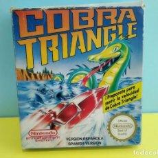 Videojuegos y Consolas: JUEGO PARA LA NINTENDO NES COBRE TRIANGLE. Lote 197221822