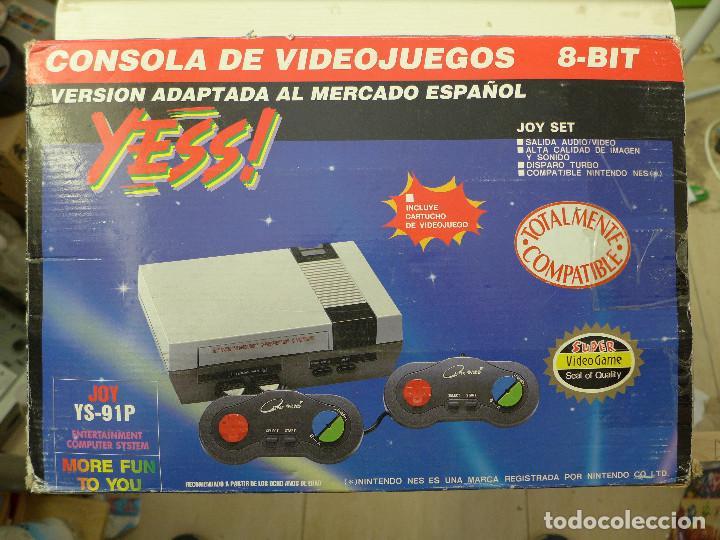 CONSOLA COMPATIBLE CON NINTENDO NES - YESS - JOY YS-91P (Juguetes - Videojuegos y Consolas - Nintendo - Nes)