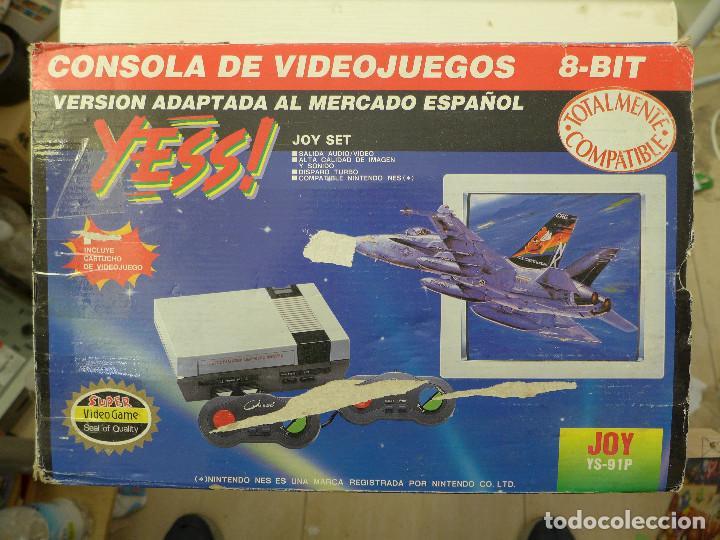 Videojuegos y Consolas: CONSOLA COMPATIBLE CON NINTENDO NES - YESS - JOY YS-91P - Foto 2 - 197225086