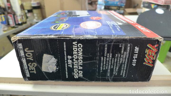 Videojuegos y Consolas: CONSOLA COMPATIBLE CON NINTENDO NES - YESS - JOY YS-91P - Foto 6 - 197225086