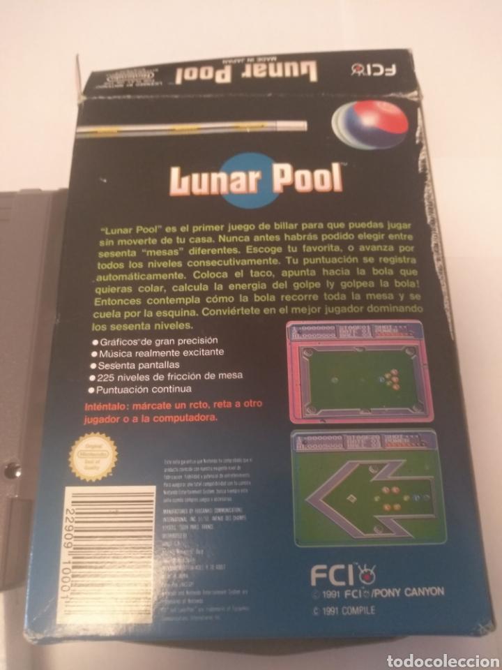 Videojuegos y Consolas: Juego Nintendo NES , Lunar Pool - Foto 4 - 197429128