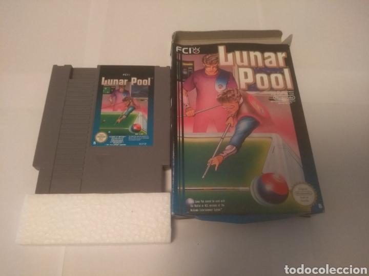 JUEGO NINTENDO NES , LUNAR POOL (Juguetes - Videojuegos y Consolas - Nintendo - Nes)