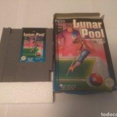Videojuegos y Consolas: JUEGO NINTENDO NES , LUNAR POOL. Lote 197429128