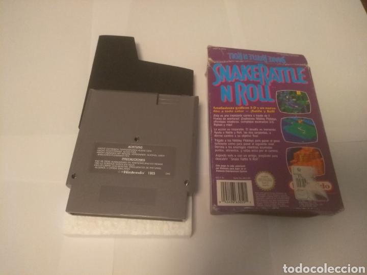 Videojuegos y Consolas: Juego Nintendo NES, Snake Rattle n Roll - Foto 4 - 197430206