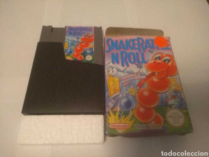 JUEGO NINTENDO NES, SNAKE RATTLE N ROLL (Juguetes - Videojuegos y Consolas - Nintendo - Nes)