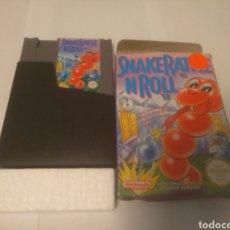 Videojuegos y Consolas: JUEGO NINTENDO NES, SNAKE RATTLE N ROLL. Lote 197430206
