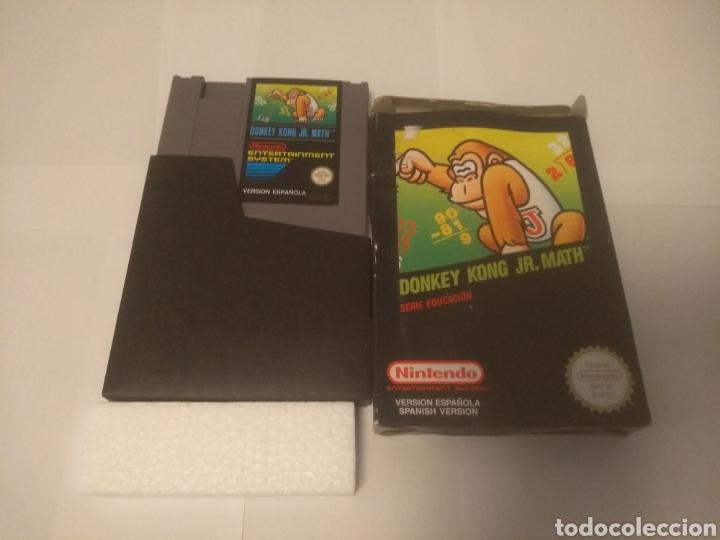 JUEGO NINTENDO NES, DONKEY KONG JR.MATH, SERIE EDUCACIÓN (Juguetes - Videojuegos y Consolas - Nintendo - Nes)