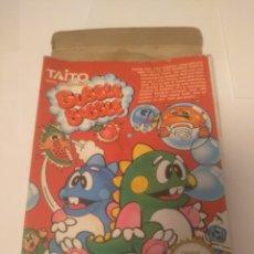 Videojuegos y Consolas: CAJA NINTENDO NES , JUEGO BUBBLE BOBBLE( SÓLO CAJA). Lote 197433540